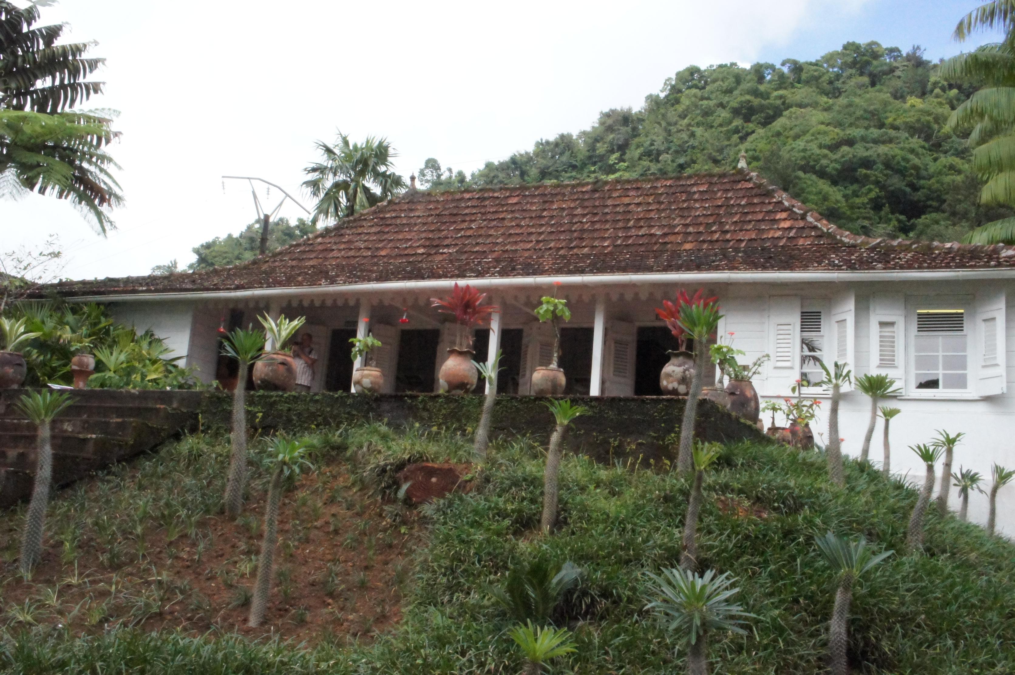 maison créole familiale - Jardin balata