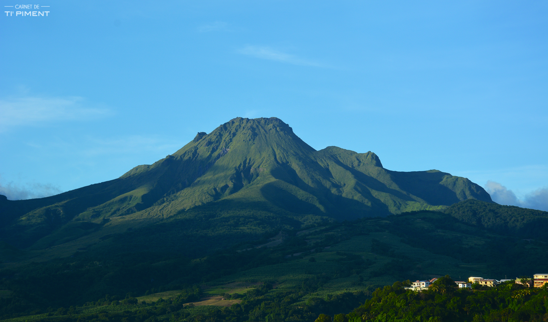La Montagne Pelée à Saint Pierre